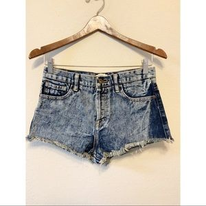 Forever 21 High Waist Denim Shorts